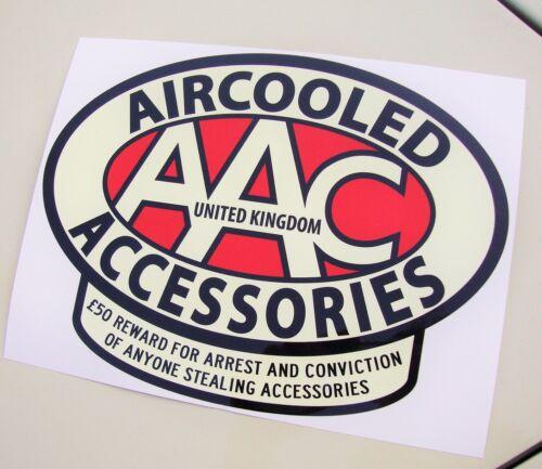 Accesorios De Gran AAC Pegatina refrigeración por proteger su paseo Calcomanía VW AAC130