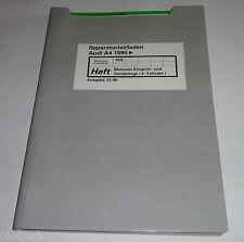 Werkstatthandbuch Audi A4 B5 Motronic Einspritzanlage + Zündanlage 6-Zyl. ab 95