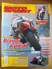 MOTOSPRINT n°44 2005  Test Yamaha R6 - Max Biaggi Valentino Rossi   [P67]