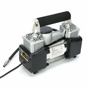 12VPortable HEAVY DUTY Air Compressor Car Electric Tire Air Inflator Pump 300PSI