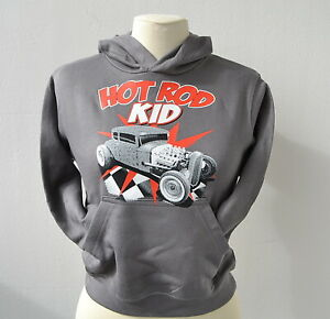 Hot-Rod-Kid-Hoody-Kinder-Kapuzenpullover-104-164-Promodoro-V8