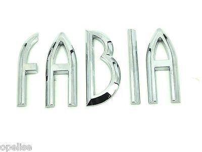 Amabile Genuine Nuovo Skoda Fabia Avvio Badge Per 1997-2004 Tratteggio Estate Saloon Tdi Sdi Rs-