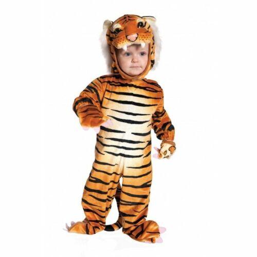 Ste Tigre Marron Animal CAT Enfant Bébé Garçons Déguisement Halloween 26021