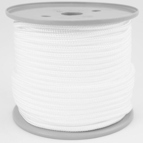 weiß Schot Polypropylenseil cord rope 3mm PP Schnur Reepschnur 50m weiss