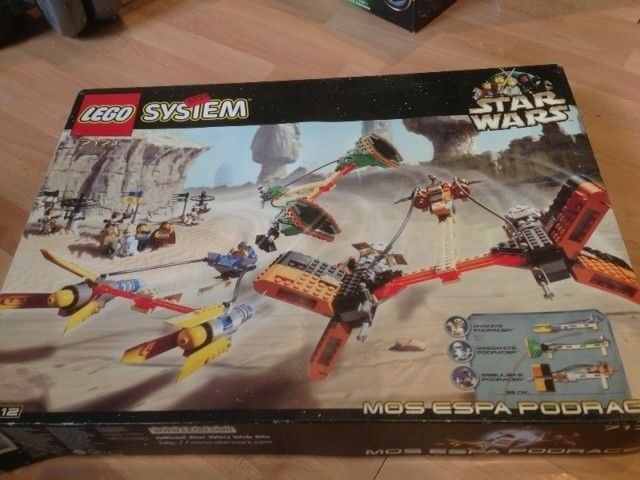 LEGO STAR WARS lot 7171 MOS ESPA POD RACE (RARE)