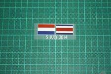 HOLLAND Vs COSTA RICA World Cup 2014 Holland Home Shirt Match Details