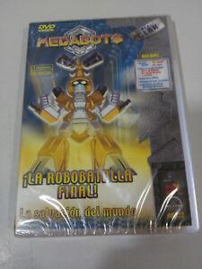 Medarot-La-Robottle-Finale-DVD-Extra-3-Serie-Spagnolo-English-Nuovo