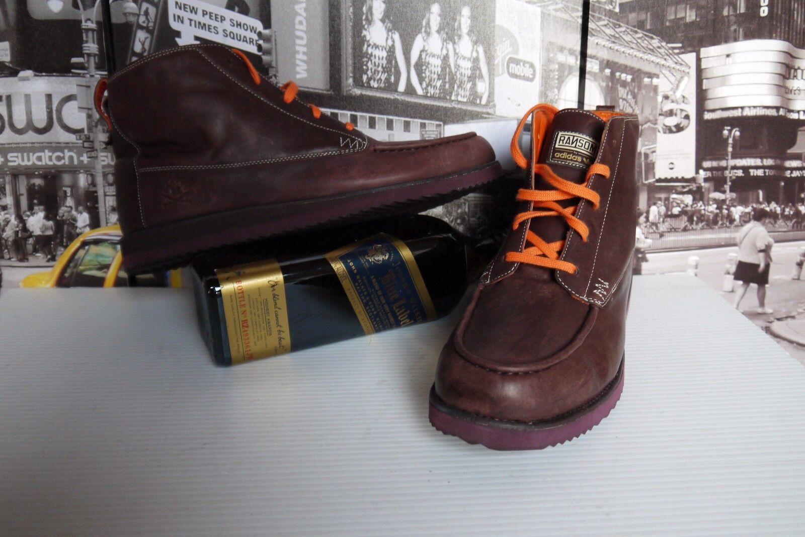 2009 ADIDAS RANSOM THE CREEK Leather boots hi tops men's US 11   UK . 10.5