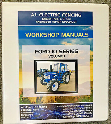New Fashion Ford 10 Series Workshop Manual,fully Printed,free Postage,hard Back,volume 2 As Effectively As A Fairy Does Business, Office & Industrial
