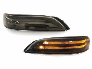 Smoke lens light bar led mirror signal lamp for acura tl