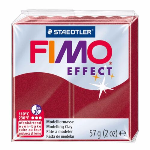 57g Set of 5 Metallic Finish FIMO Effect Polymer Oven Modelling Clay