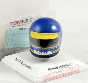 NEW-tsm15ac10-1-8-Ronnie-Peterson-Helmet-Lotus-F1-1974