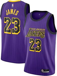 New Nike 3XL Men's NBA Official On-Court Los Angeles Lakers Lebron ...