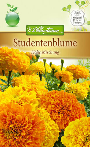 Studentenblume /'Hohe Mischung/' ca Tagetes erecta 80 Samen 5275