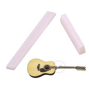 GITARRE Sattel guitar nut 47mm 6string weiß Gitarrensattel saddle 47 Obersattel