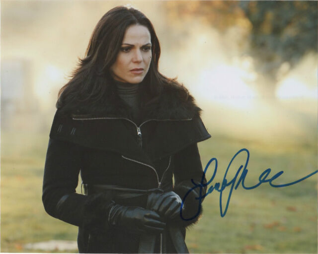 Lana Parrilla Once Upon A Time Autographed Signed 8x10 Photo COA #5