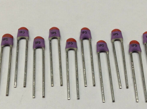 M2117 10 Piece RF Capacitors Ceramic Radial bedrahtet 1,5pF 100V 10/%