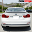 14-17 BMW 4 Series F32 P Style Rear Trunk Spoiler Wing Painted Jet Black #668