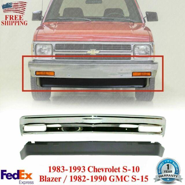 Front Bumper Chrome Signal Lights For 1983 1994 S10 S15 Sonoma Pickup For Sale Online Ebay