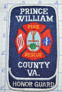 VIRGINIA-PRINCE-WILLIAM-COUNTY-FIRE-RESCUE-HONOR-GUARD-PATCH