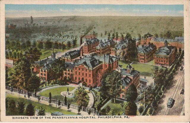 Philadelphia, PA - Pennsylvania Hospital - BIRDSEYE