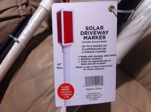 6 x New Solar Driveway Marker Stake led Light