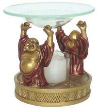 Happy Buddha Scented Fragrance Oil Candle Warmer Burner - O-149GR