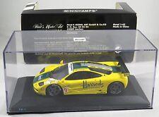 MCLAREN F1 GTR #9 Wallace Bell MACH ONE 4H NURBURGRING BPR 1995 MINICHAMPS 1:43