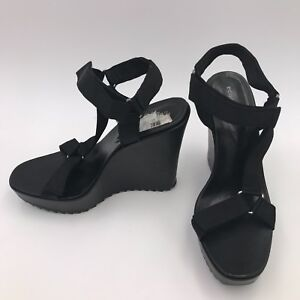 cc75f67188c9 Image is loading BCBGeneration-Casper-Platform-Wedge-Sandals-Women-039-s-