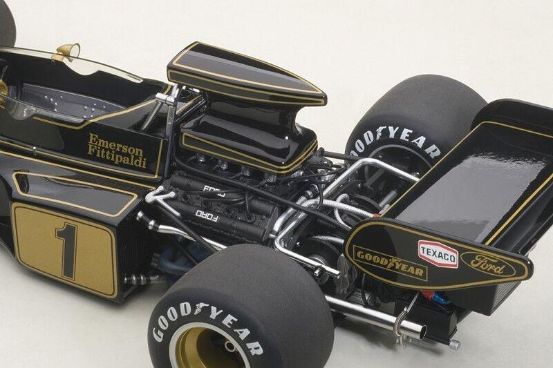 Autoart Lotus Lotus Lotus 72E 1973 Fittipaldi #1 Composite Modèle en 1/18 Échelle Neuf Stock   Sale Online  0cf472