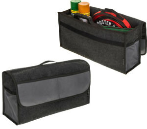 BOOT ORGANISER LARGE CAR VEHICLE CARPET STORAGE BAG TOOLS BOOT