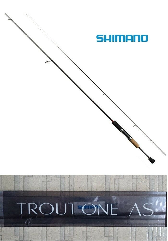 Shimano TROUT ONE AS S66UL-F Spinning Fishing Rod Pole Canne Free Shipping