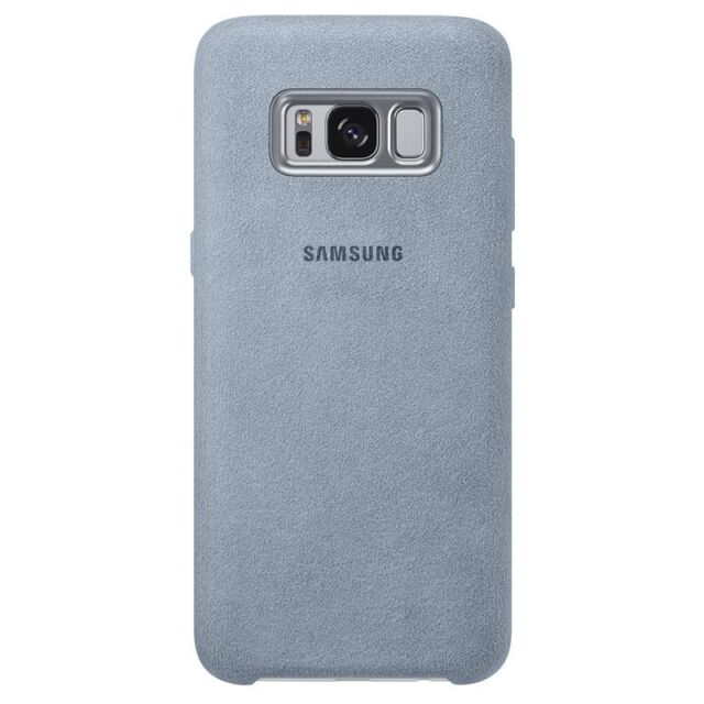 SAMSUNG Alcantara Cover Galaxy S8 EF-XG950 mint EF-XG950AMEGWW