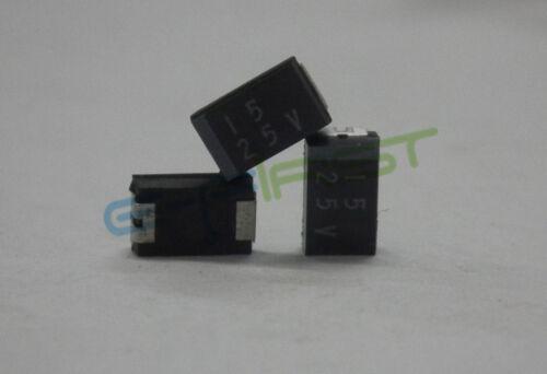 50pcs 25V 15uF 25V 1E156 ELNA SY2-1E156M-RD0 1206 SMD tantalum Capacitor