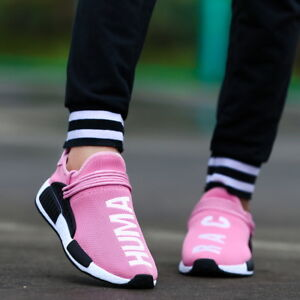Women-039-s-Trainers-Casual-Sport-Running-Sneakers-Tennis-Shoes-Breathable-Pink-US11