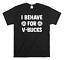 miniature 1 - I Behave For V-Bucks Funny Kids T-Shirt Unisex Children's Fortnite Inspired Top