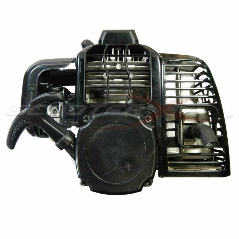 49cc 52cc XTreme Gas Scooter Complete Engine Pepboy Motor Pull Start WWarranty
