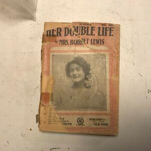 salable her double life mrs. harriet lewis 1888 victorian