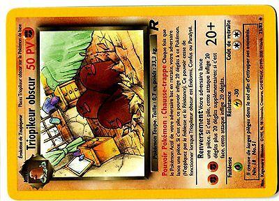 POKEMON TEAM ROCKET RARE FR N° 23//82 TRIOPIKEUR OBSCUR
