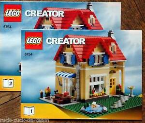 lego bauanleitung instruction manual creator 6754 family haus bauplan 3 ebay. Black Bedroom Furniture Sets. Home Design Ideas