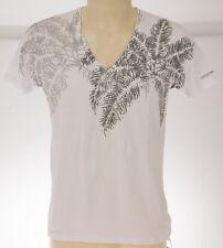 T-shirt maglietta V uomo EMPORIO ARMANI 211472 4P457 T.XL c.00010 BIANCO