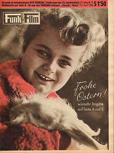 FUNK-UND-FILM-1955-nr-15-BRIGITTE-VICO-TORRIANI-JARO-SCHMIED-CASA-RICORDI