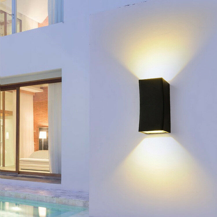 10W 20W COB LED de Lámpara de parojo Luz Arriba Abajo Luminaria Lámpara al Aire Libre Verojoa Cottage
