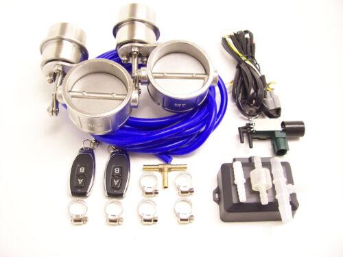 RSR Klappenauspuff 70mm Dual Unterdruck ZU Fernbedienung 2,75 Klappensteuerung
