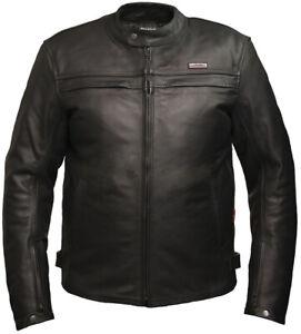Skintan-Men-Leather-Motorcycle-Jacket-CE-Armoured-Black-Motorbike-Biker-Touring