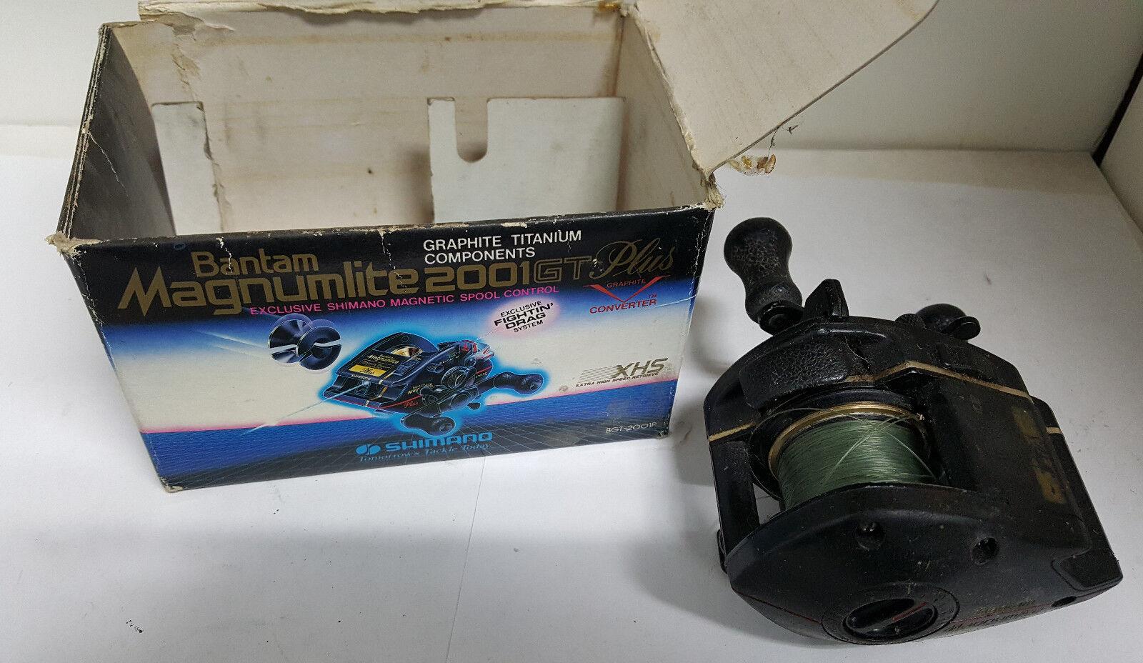 Team SHIMANO MAGNUMLITE 2001GT PLUS Baitcasting Baitcasting PLUS Reel BAIT CASTING e67b65
