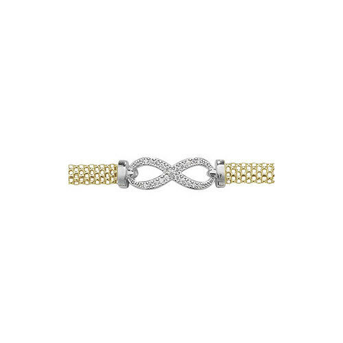 Necklet and Bracelet set Details about  /Sterling Silver Yellow Matching Stone Set Infinity