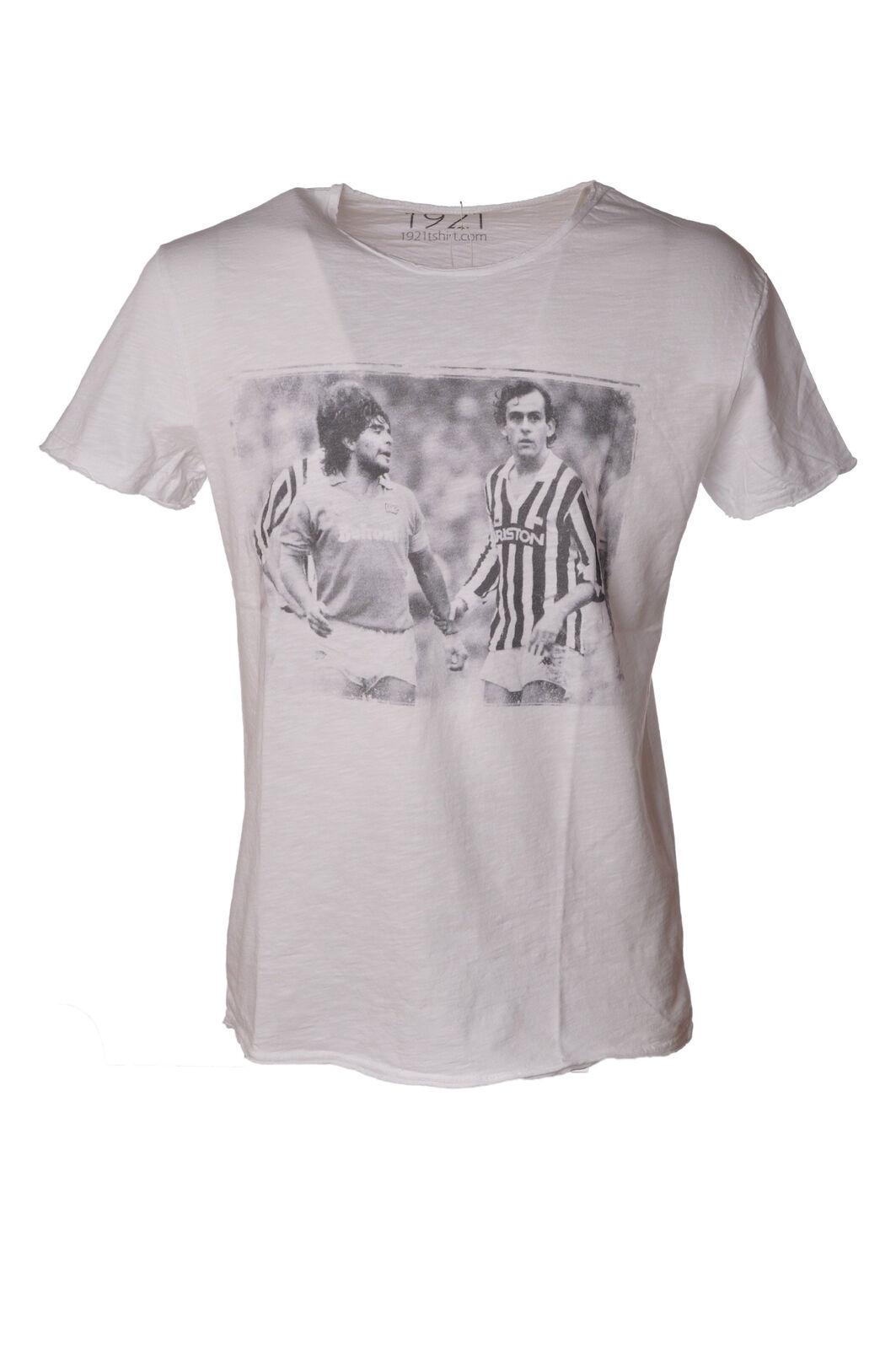 1921 - Topwear-T-shirts - Mann - Weiß - 4044621G181408