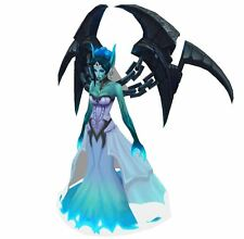 12INCHES League of Legends Model Ghost Bride Morgana Micromodels DIY Figure