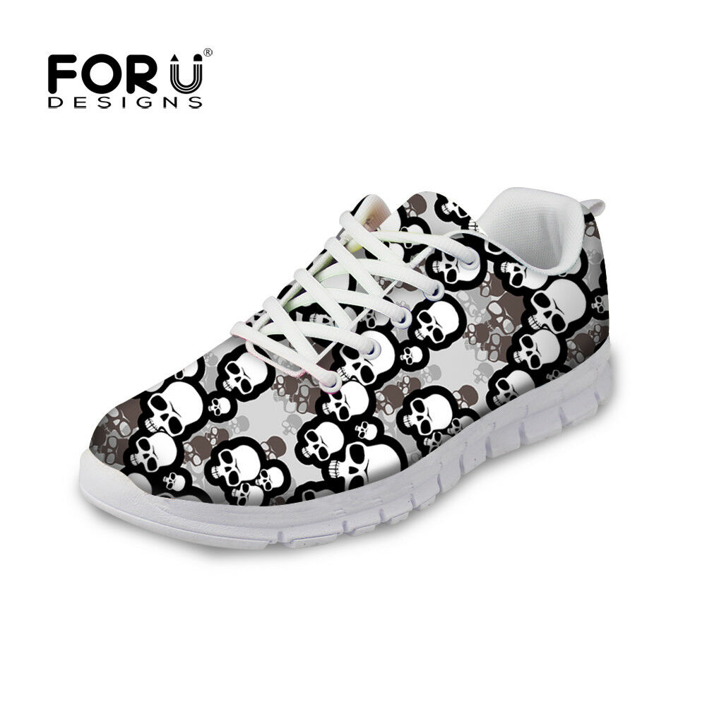 12860a5b0b996 2018 Men s Running Trainer Fashion Skull Design Casual Casual Casual Sneaker  Sport Shoes 8d9474
